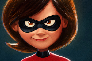 Elastigirl In The Incredibles 2 Movie