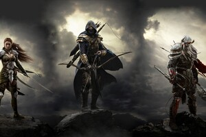 Elder Scrolls Online Warrior Wallpaper