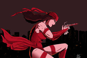Elektra Artwork Wallpaper