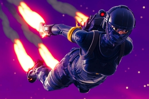 Elite Agent Skydive Fortnite Battle Royale