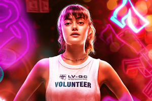 Ella Purnell As Kaye Ward In Army Of The Dead Character Poster 5k Wallpaper