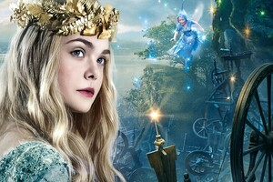 Elle Fanning As Princess Aurora Wallpaper