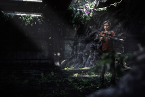 Elle The Last Of Us 3d Art