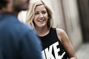 Ellie Goulding Cute Smile 5k