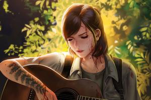 Ellie The Last Of Us Artwork 4k