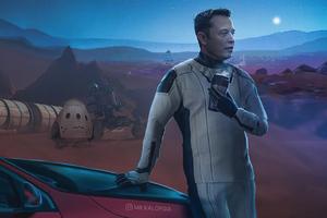 Elonmusk Mars Space X