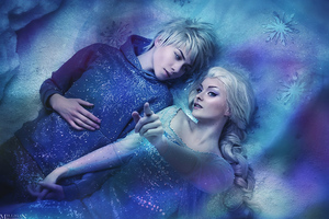 Elsa And Jack Frost Wallpaper