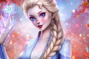 Elsa Queen Frozen Wallpaper