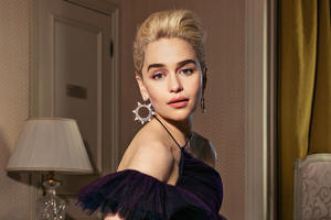 Emilia Clarke Cannes 2020 Wallpaper