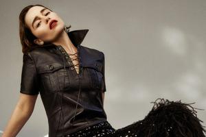 Emilia Clarke Flaunt Magazine Wallpaper