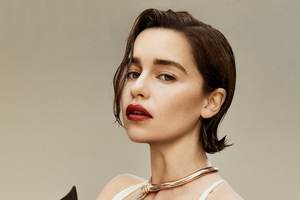 Emilia Clarke Flaunt Magazine Photoshoot 2019 Wallpaper