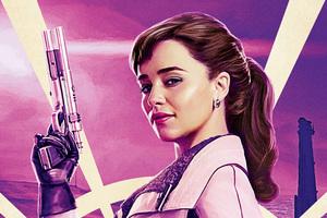 Emilia Clarke In Solo A Star Wars Story Movie