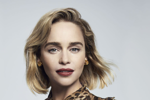 Emilia Clarke Photoshoot For Dolce And Gabbana
