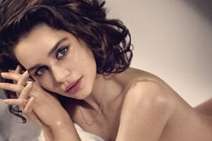 Emilia Clarke Photoshoot Wallpaper