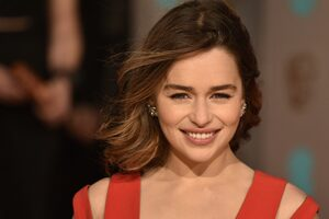 Emilia Clarke Smiling Cute 4k