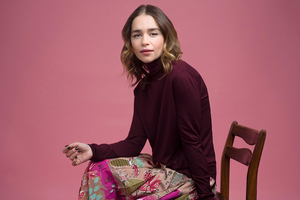 Emilia Clarke The Sunday Times 2020 Photoshoot Wallpaper