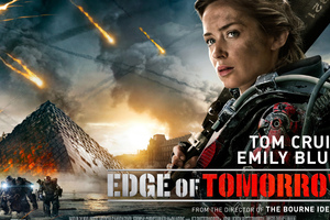 Emily Blunt In Edge Of Tomorrow Wallpaper
