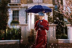 Emily Blunt In Mary Poppins Returns Movie 8k