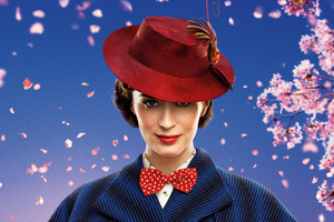 Emily Blunt Mary Poppins Returns 8k