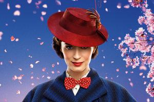 Emily Blunt Mary Poppins Returns 8k Wallpaper