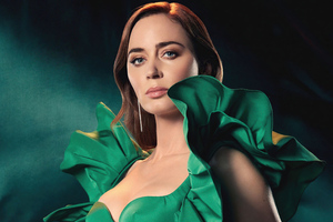Emily Blunt The Hollywood Reporter 5k Wallpaper