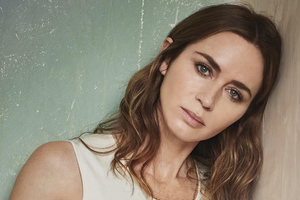 Emily Blunt The Sunday Times Photoshoot 4k Wallpaper
