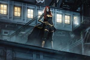 Emma Stone Batwoman Wallpaper