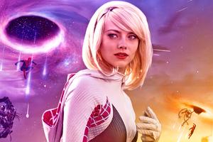 Emma Stone In Spiderman No Way Home 4k Wallpaper
