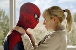 Emma Stone Spider Man Wallpaper