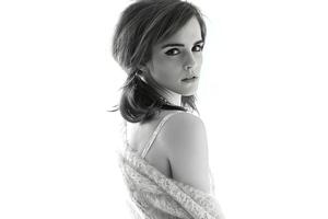 Emma Watson Monochrome