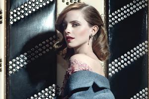 Emma Watson W Magazine 2021 Wallpaper