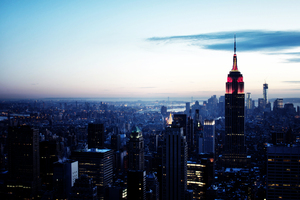Empire State Building New York 4k Wallpaper