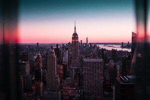 Empire State Building New York 8k Wallpaper