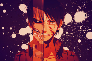 Eren Jeager Anime Wallpaper
