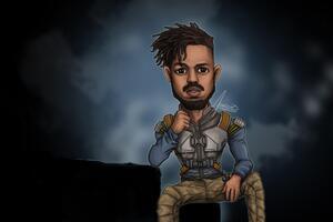 Erik Killmonger 5k Artwork