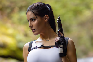 Erin Olash Tomb Raider Cosplay Wallpaper