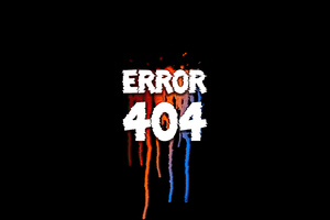 Error 404 Page Wallpaper