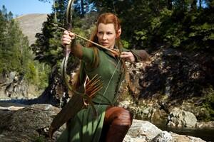 Evangeline Lilly In Hobbit