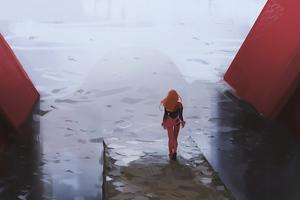 Evangelion Asuka 4k