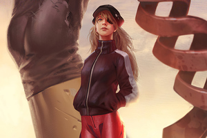 Evangelion Asuka Langley Wallpaper