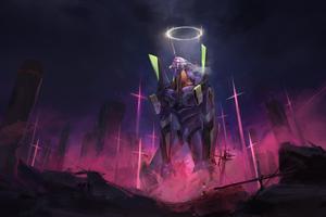 Evangelion Unit 01 4k
