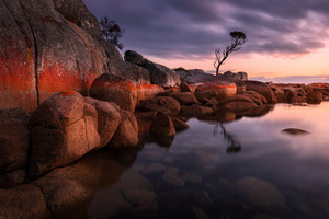 Evening Bay Of Fires 5k Wallpaper
