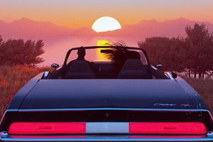 Evening Date Place Car Ride 4k Wallpaper