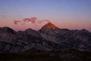 Evening View Mountains Landscape 5k Wallpaper