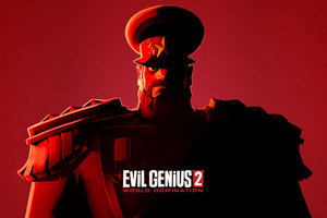 Evil 2 Genius World Domination Wallpaper
