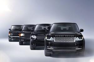 Evolution Of Range Rover Wallpaper