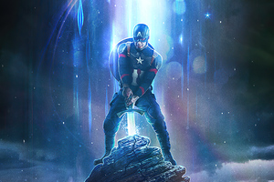 Excalibur Captain America Wallpaper