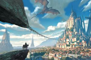 Excalibur Castle 4k