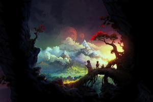 Exploring The Hidden World 4k Wallpaper