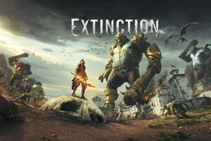 Extinction Key Art 2017 Game